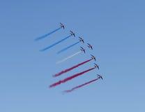 60 american national standard Patrouille de France Photographie stock libre de droits