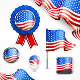 American national symbols Stock Photo