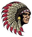 American native chief Stock Photos