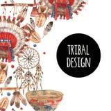 American native symbolic objects ornamental Stock Photography
