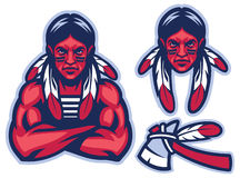 American native warrior