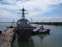 American Naval Ship Stock Photos