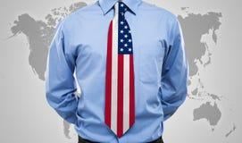 American necktie Stock Photo