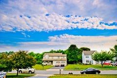 American neighborhood Stock Photos