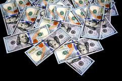 American new 100 dollars Stock Photos