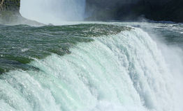 American Niagara Falls close up Stock Photo