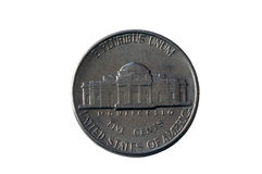 American Nickel Royalty Free Stock Image