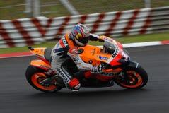 American Nicky Hayden Repsol Honda 2007 Polini Mal Royalty Free Stock Image