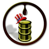 American Oil. Royalty Free Stock Photo