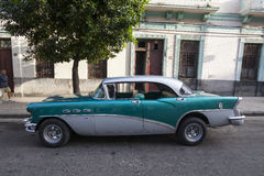 American old car in Havana Stock Photography