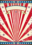 American old flag background Stock Image