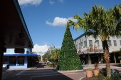 AMERICAN OLD TOWN KISSIMMEE ORLANDO FLORIDA USA. KISSIMMEE/ORLANDO / FLORIDA / USA - 30,November 2017. Visitor and travelers visiting Old town i Kissimmee stock image