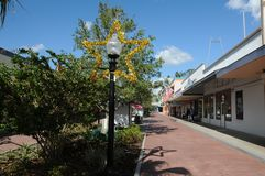 AMERICAN OLD TOWN KISSIMMEE ORLANDO FLORIDA USA royalty free stock images