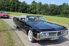 American Oldtimer. Black Buick oldtimer in the streets of germany Stock Image