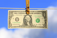 The American one dollar royalty free stock images