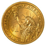 American one dollar coin Stock Photo