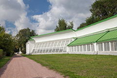 American orangery  in Kuskovo park, Moscow Stock Photography
