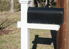 American Outdoor Metal Mailbox Royalty Free Stock Image