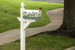 American outdoor metal mailbox Royalty Free Stock Photos