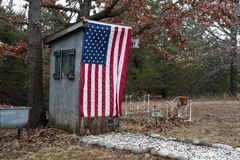 American Outhouse Royalty Free Stock Photo