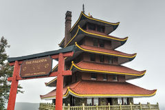 American Pagoda - Reading, Pennsylvania Royalty Free Stock Photo