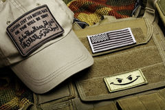 American paramilitary contractor equipment. Stock Photography
