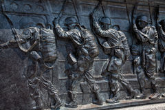 American Paratroopers--World War II Memorial Stock Image
