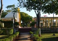 American park merida mexico travel garden architecture Stock Photo