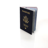American passport Stock Photos