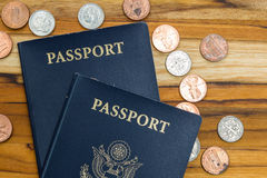 American Passport Royalty Free Stock Photos