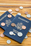 American Passport Royalty Free Stock Image