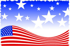American patriot background Royalty Free Stock Images