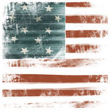 American patriotic background Royalty Free Stock Photos