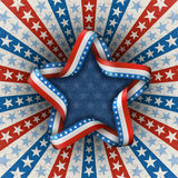 American Patriotic Background Royalty Free Stock Images