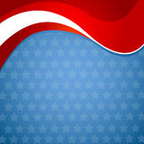 American patriotic background. An American patriotic  squear background Stock Image