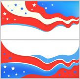American patriotic backgrounds Royalty Free Stock Photo