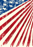 American patriotic flag Royalty Free Stock Photography