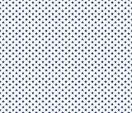 American patriotic seamless pattern blue stars on white backgrou. Nd. Vector illustration Royalty Free Stock Images