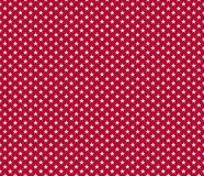 American patriotic seamless pattern white stars on red backgroun. D. Vector illustration Royalty Free Stock Image