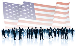 American people Royalty Free Stock Image
