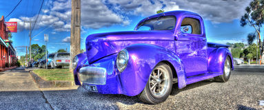 American pick up truck Royalty Free Stock Photo