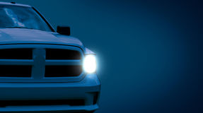 American Pickup car close-up royalty free stock image