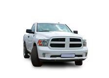 American Pickup. White background. Stock Image