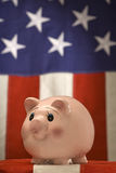 American Piggy Bank Royalty Free Stock Photos
