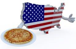 American pizza concepts Stock Photo