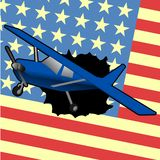 American plane Royalty Free Stock Photography
