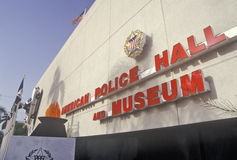American Police Hall of Fame and Museum, Miami, Florida Royalty Free Stock Images