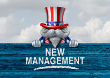American Political Government Change Stock Image