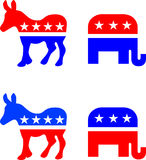 American Political Symbols Royalty Free Stock Images