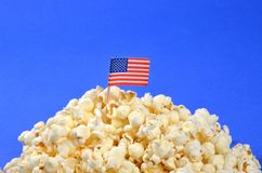 American Popcorn Stock Photos